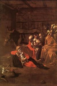 Caravaggio, Adorazione dei pastori (1609)